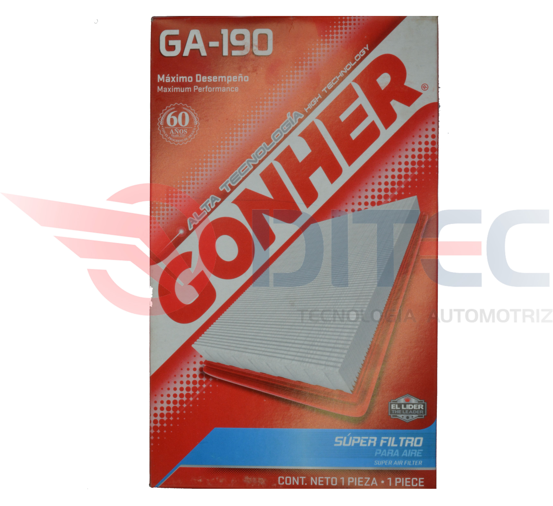 Filtro De Aire Gonher GA-190